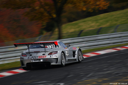 Finally in the ring Starring: Mercedes Benz SLS GT3 (by DENNISVDMEIJS.NL Photography)