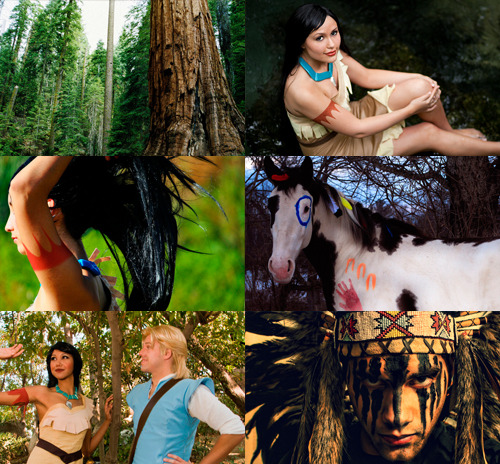 Disney Animation to Live Action ➝  Pocahontas