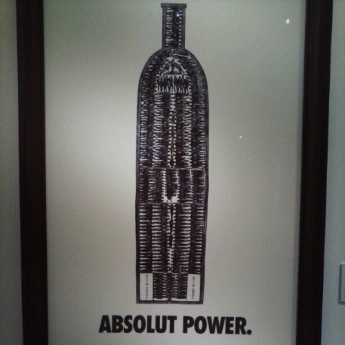 elisaddiq:  Harn Art Museum Hank Willis Thomas Absolut Power