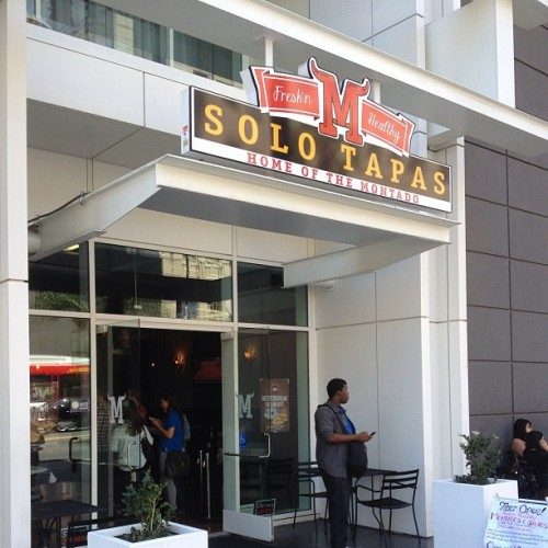 Now open at Hollywood & Vine! (at Solo Tapas)