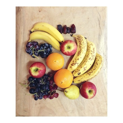 cleanbodyfreshstart:  {fruit chop time} #vegan