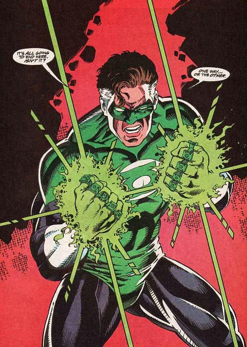 Green Lantern #48 - Ron Marz / Bill Willingham