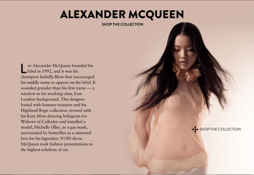 Styling Alexander McQueen for Lane Crawford. Womenswear Alexander McQueen with photographer Laurent Segretier