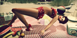 "Summer loving is coming! Check out the Second Life Pic of the Day, ""retro beach"" byclaudiaorsini. http://bit.ly/12e3wpH"