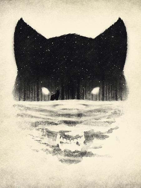 urhajos:  'Wolf' by Dan Burgess
