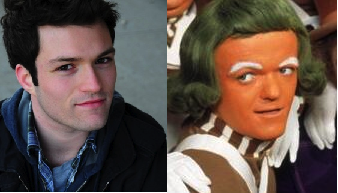CH Doppelgangers Contest: Josh Ruben + Oompa = Ruben Loompa? Oompa Loompa Rubendy Doo? If you or a friend or an oompa loompa look like any of us here at CollegeHumor then submit them to us on Tumblr. May the best doppelganger win eternal glory.