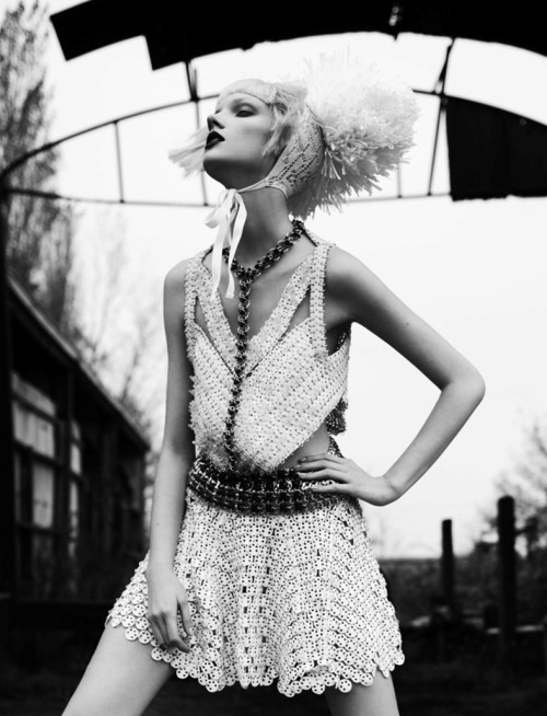 fashionfaves:   Anastasia Ivanova by David Sessions and Coline Bach