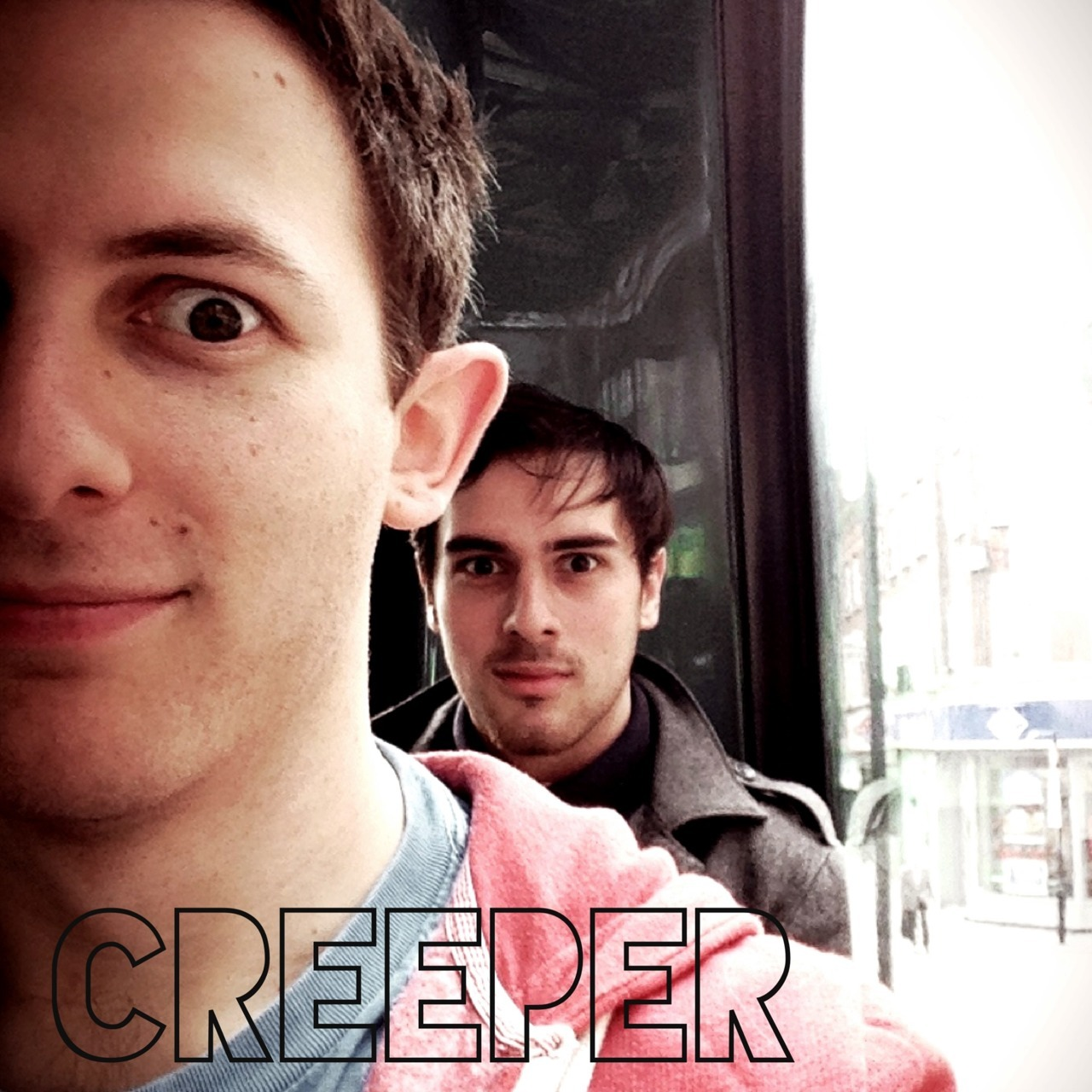 Creeper on the bus