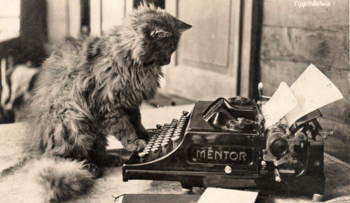 """thehystericalsociety:  """"Mentor"""" - c. 1910s - (Via)"""