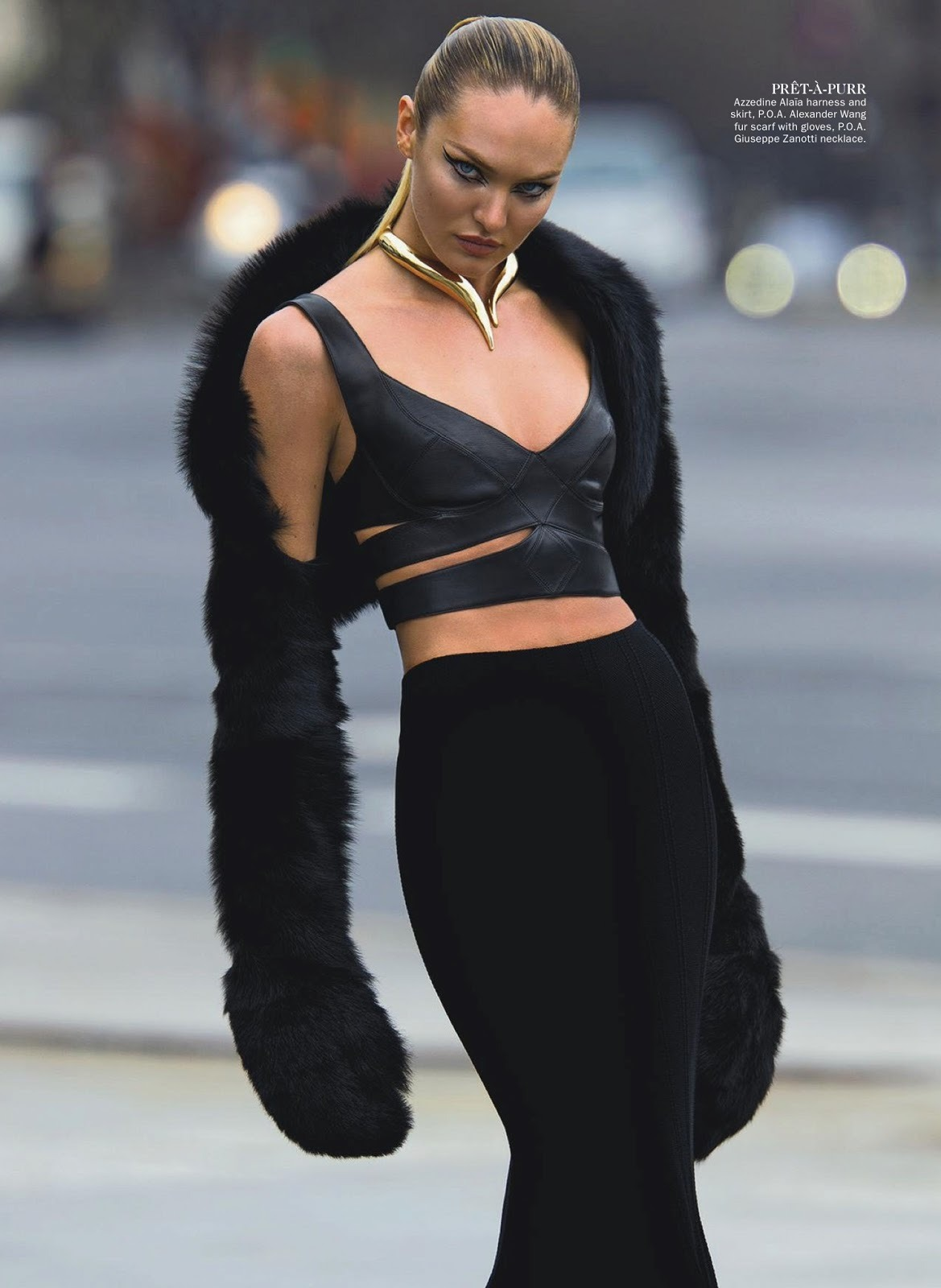 imgmodels:    Candice Swanepoel in Wild Cat by Hans Feurer for Vogue Australia June 2013 Link to full set