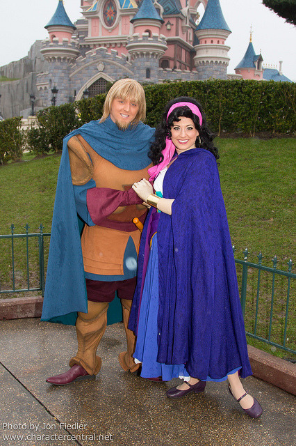 DLP Feb 2013 -  Esmerelda and Phoebus celebrate Valentines Day by PeterPanFan on Flickr.
