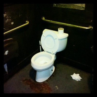 Pretty standard. The Standard, E Portland #toilet, #thestandard, #pdx