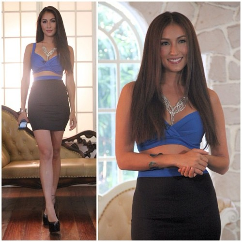 Catch the charismatic @SolennHeussaff on #GMA News TV wearing #K8LA. This Wednesay, March 15 at 10 PM #fashion #outfit #ootd