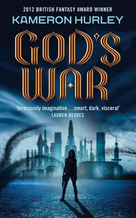 GOD'S WAR by Kameron Hurley is out today in the UK from Del Rey! We're absolutely delighted to see the multi-award winning first book in the Bel Dame series hit the shelves, and can't wait to hear what you think of it. The Book: Nyx is a bel dame, a bounty hunter paid to collect the heads of deserters – by almost any means necessary. 'Almost' proved to be the problem. Cast out and imprisoned for breaking one rule too many, Nyx and her crew of mercenaries are all about the money. But when a dubious government deal with an alien emissary goes awry, her name is at the top of the list for a covert recovery. While the centuries-long war rages on only one thing is certain: the world's best chance for peace rests in the hands of its most ruthless killers… Set in a futuristic world dominated by war, religion and an insectile technology which borders on magic, Kameron Hurley's debut is set to be the highlight of the year. Pray that it's enough… Praise for Kameron Hurley and the Bel Dame Series: Kameron Hurley's a brave, unflinching, truly original writer with a unique vision - her fiction burns right through your brain and your heart. - Jeff VanderMeer  Show Less Hurley's world-building is phenomenal… [she] smoothly handles tricky themes such as race, class, religion, and gender without sacrificing action. - Publishers Weekly   An aggressively dark, highly original SF-fantasy novel with tight, cutting prose and some of the most inventive world-building I've seen in a while. - Stefan Raets, Fantasy Literature.com