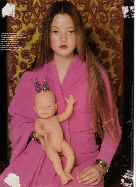 skeetshoot:  The Face September 1997, Chapter & Verse Devon Aoki by  Michael Sanders