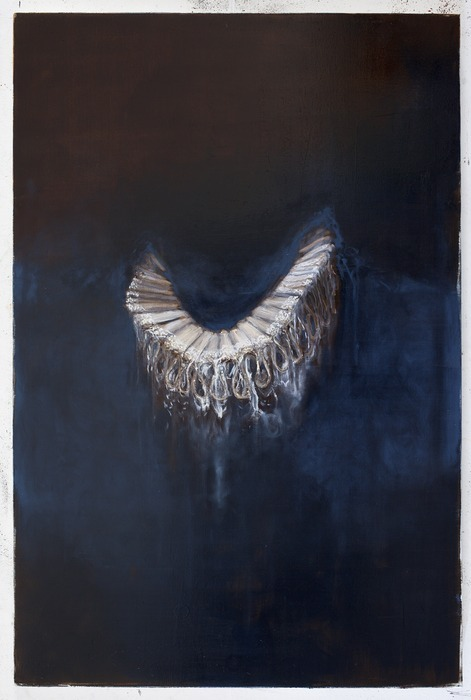 Oren Eliav Collar Oil on canvas 150x100cm 2010