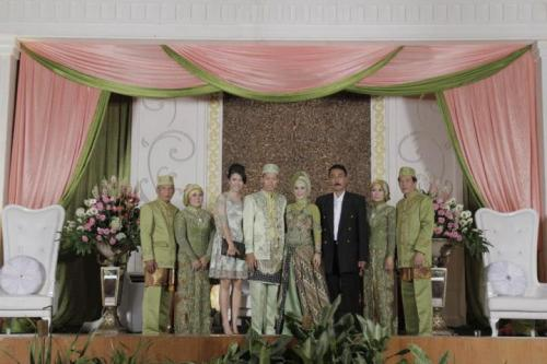 Nanda's wedding.