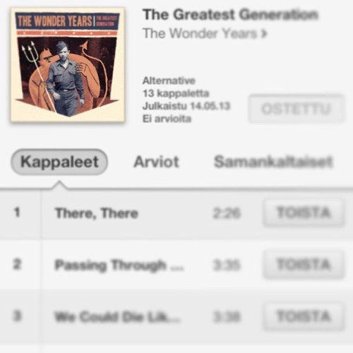 Look what I bought! #thewonderyears #thegreatestgeneration #itunes @broompeople