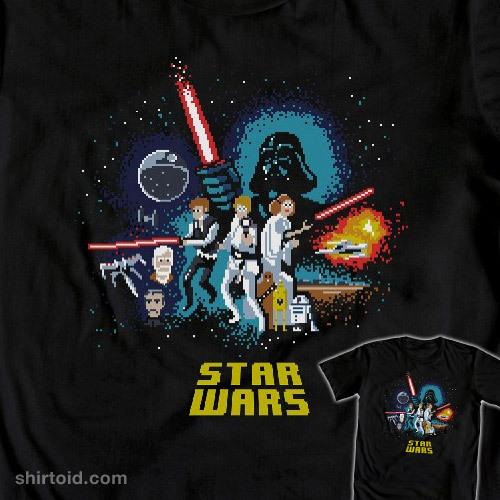 shirtoid:  Googly A New Hope is available at WeLoveFine