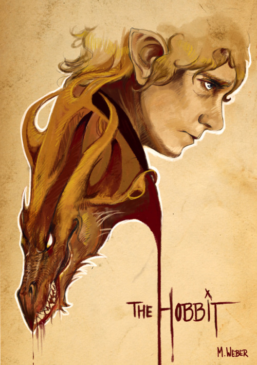 webmiri:  Late night Hobbit artfart.