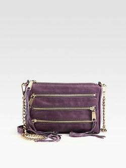 Rebecca Minkoff Mini Convertible Zip Clutch via http://bit.ly/R0TB6q