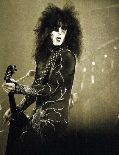 superseventies:  Paul Stanley of KISS, 1976
