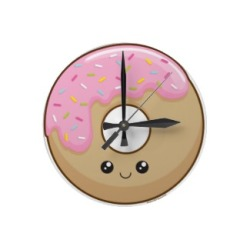 Cute stuff: Kawaii donut clock Saw this cute donut wall clock today and had to share coz it's just so cute!