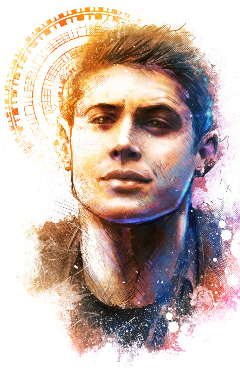 Dean from Supernatural by Vincent Vernacatola