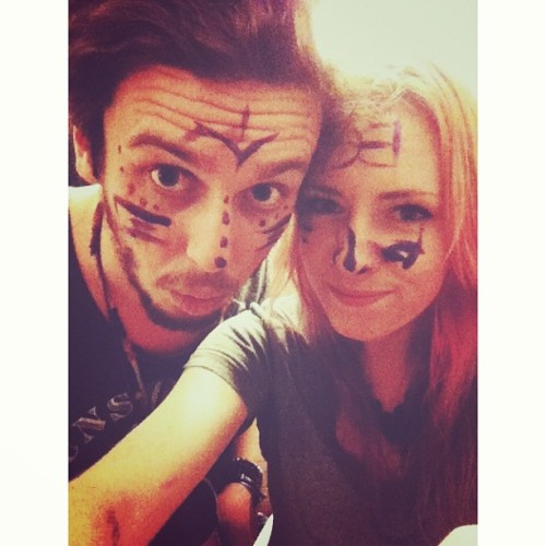war paint @a_slander_punk