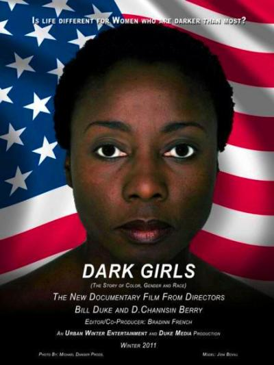 "soulbrotherv2:  Dark Girls:  The Story of Color, Gender, and Race  Has anything really changed since the days of American slavery when dark-skinned Blacks were made to suffer even greater indignities than their lighter skinned counterparts? Ask today's dark Black woman. Dual documentary Directors/Producers D. Channsin Berry (Urban Winter Entertainment) and Bill Duke (Duke Media) took their cameras into everyday America in search of pointed, unfiltered and penetrating interviews with Black women of the darkest hues for their emotional expose', ""Dark Girls"". Two years in the making and slated to premier at the Toronto International Film Festival, ""Dark Girls"" pulls back our country's curtain to reveal that the deep seated biases and hatreds of racism – within and outside of the Black American culture – remain bitterly entrenched. [Visit Dark Girls movie site.]  ."