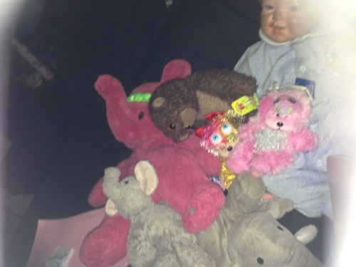I like to fill my bed with my teddies, :p