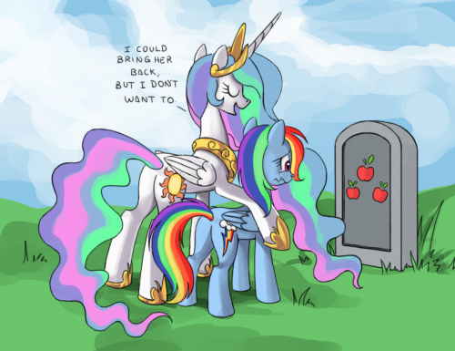 feather-ponyartist:  Hahahahahahahahahaha … AppleJack… ;_;