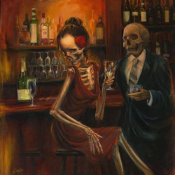 Couple at the bar by Carlos Torres