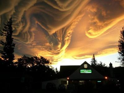 Clouds Via ReadWrite: An asperatus cloud in New Zealand. Proposed in 2009, this cloud classification, if successfully added, will be the first formation since cirrus intortus in 1951 to join the International Cloud Atlas.