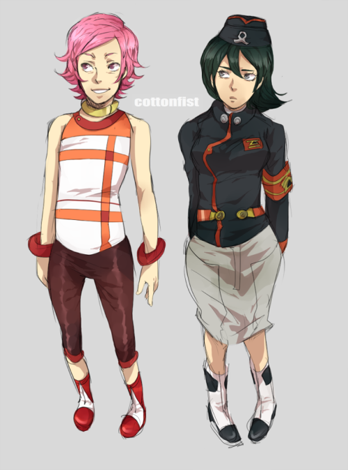 Reverse gender roles for Anemone & Dominic! Eureka & Renton's can be found here. Holland & Talho are up next.