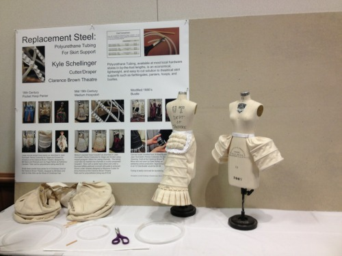 Costume Technology Poster Session @ USITT Milwaukee