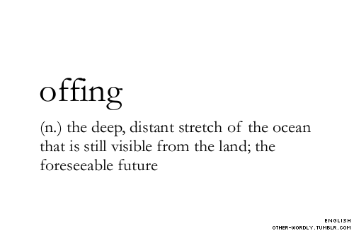 pronunciation | 'o-fing (via other-wordly:)