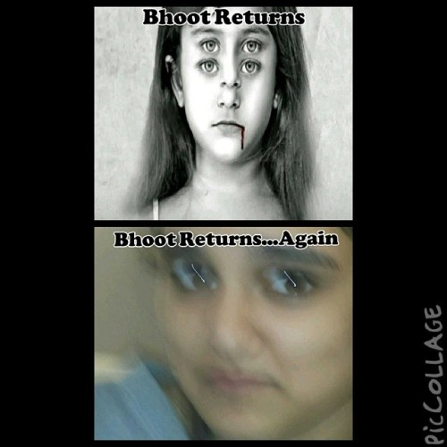 @apsaraaziz @kanztherainbower The gods are sending a sign that vee must make sequel to Bhoot Returns. This shall make us superstars
