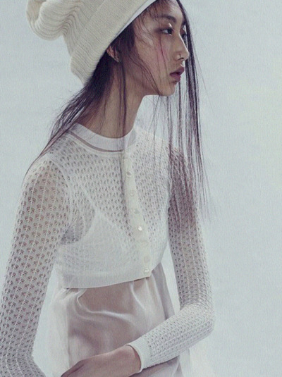 Yue Ning photographed by Paolo Kudacki for i-D Magazine Summer 2013