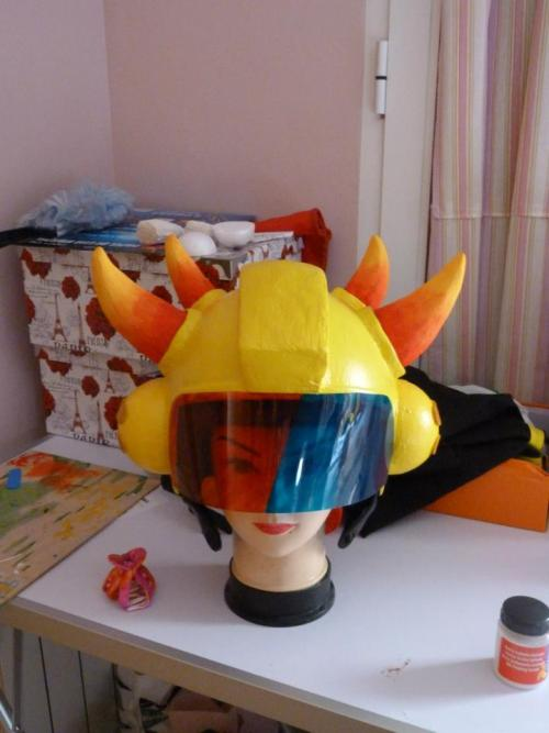 Mituna helmet 100% !!  Only 5 days for the con with all the alpha trolls! *3*