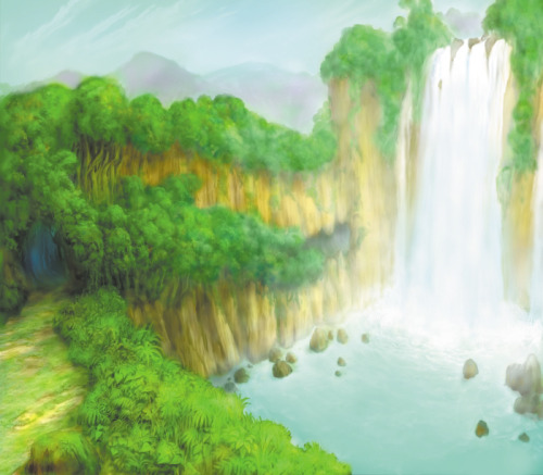 wayfinderpromises:  Kingdom Hearts Landscape Art