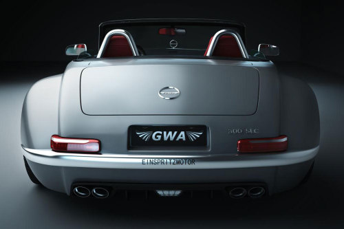 Past Meets Present You may have heard of the Gullwing America 300SL Panamericana, which was released in 2009 as a modern day, more reliable version of the original Mercedes-Benz 300SL which some like, others don't. The car above is a one-off car built by Gullwing America for a single client in Eastern Europe. It takes inspiration from the 1955 Mercedes-Benz SC and it's built on the current SLS AMG chassis. The Road & Track crew thinks it's hideous. The folks at Autoblog think it's stunning. What do you think?
