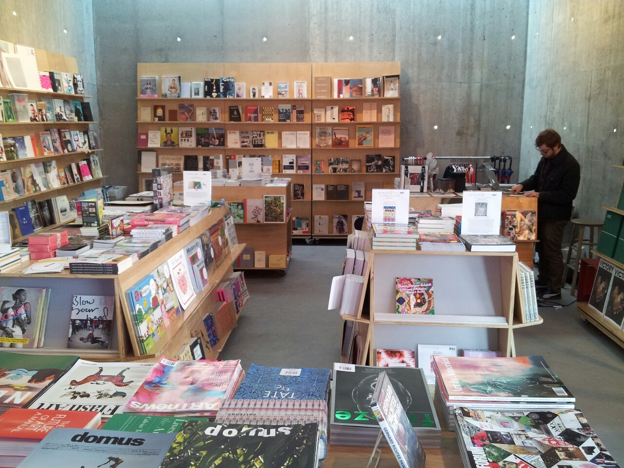 mossfull:    MoMA PS1 magazine store