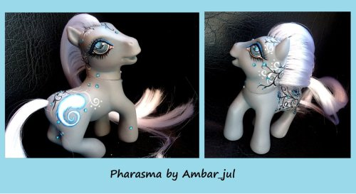 My little pony custom Pharasma by ~AmbarJulieta