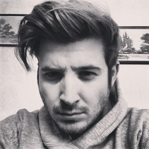 Big hair Saturday #blackandwhite #guy #face #hair #b&w #me