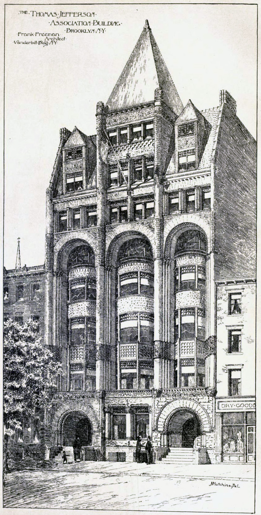 The Thomas Jefferson Association Building, Brooklyn