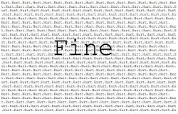 unic0rn-multicolor:  a-t-h-a-z-a-g-o-r-a-p-h-o-b-i—a:  I'm… Fine | via Facebook on @weheartit.com - http://whrt.it/12b5Pd0