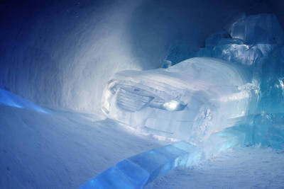 Car Ice Sculpture