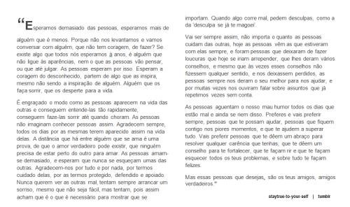Textos De Amizade On Tumblr