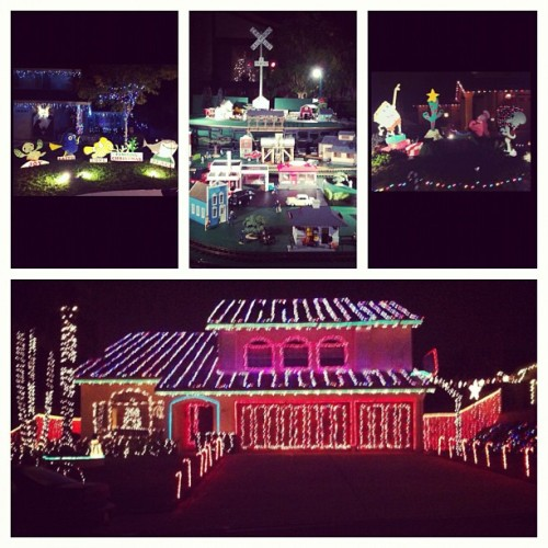 Christmas Card Lane and Candy Cane Lane w/ @jackquinzon @karlaservillon & #Soroosh Merry Christmas everyone!!!